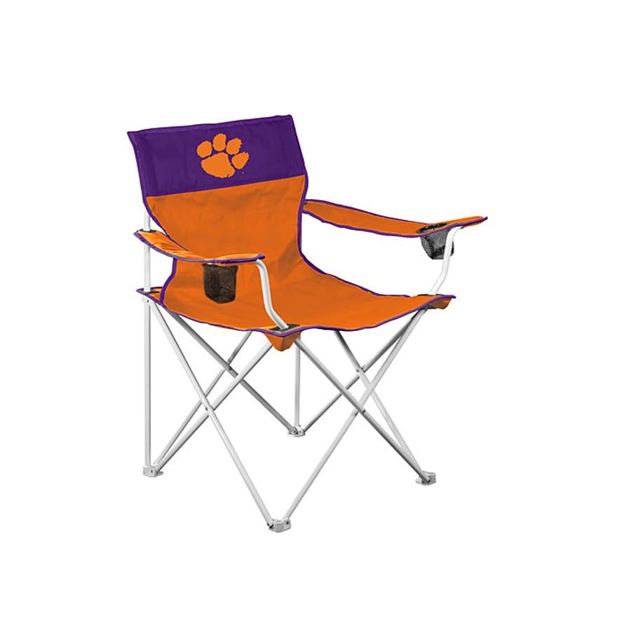 Logo Chairs Big Boy Ncaa Clemson University Tigers Folding
