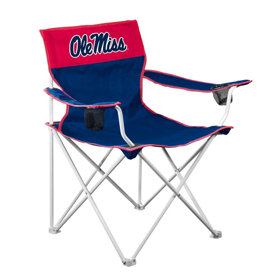 Logo Chairs Big Boy NCAA Ole Miss Rebels Folding Camping Chair