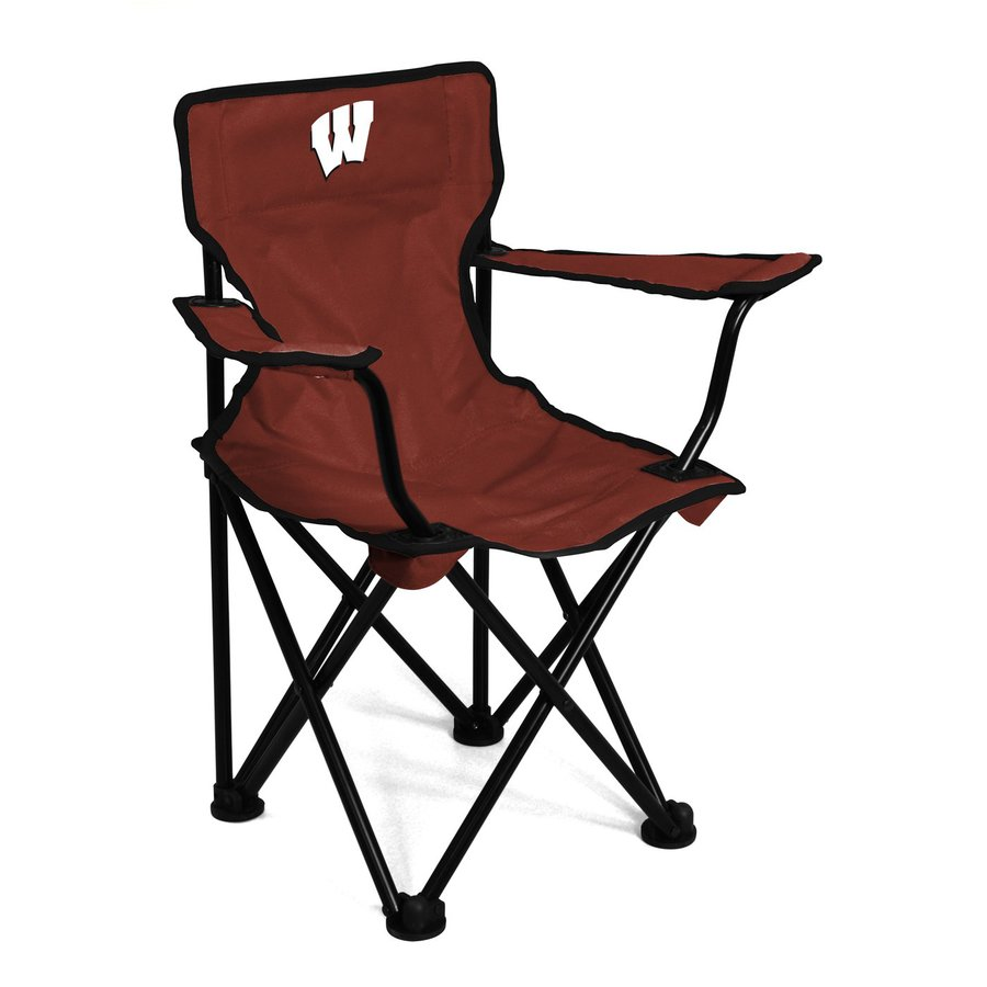 Logo Chairs Wisconsin Badgers 21-in Kids Chair