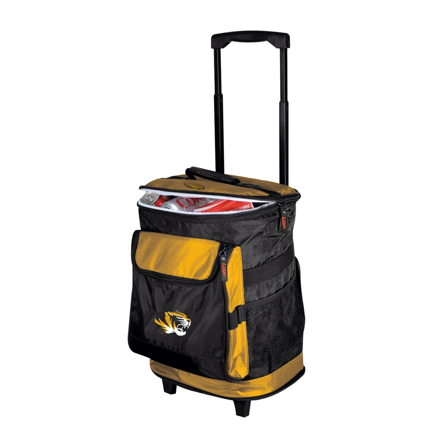 Logo Chairs Missouri Tigers Wheeled Polyester Cooler