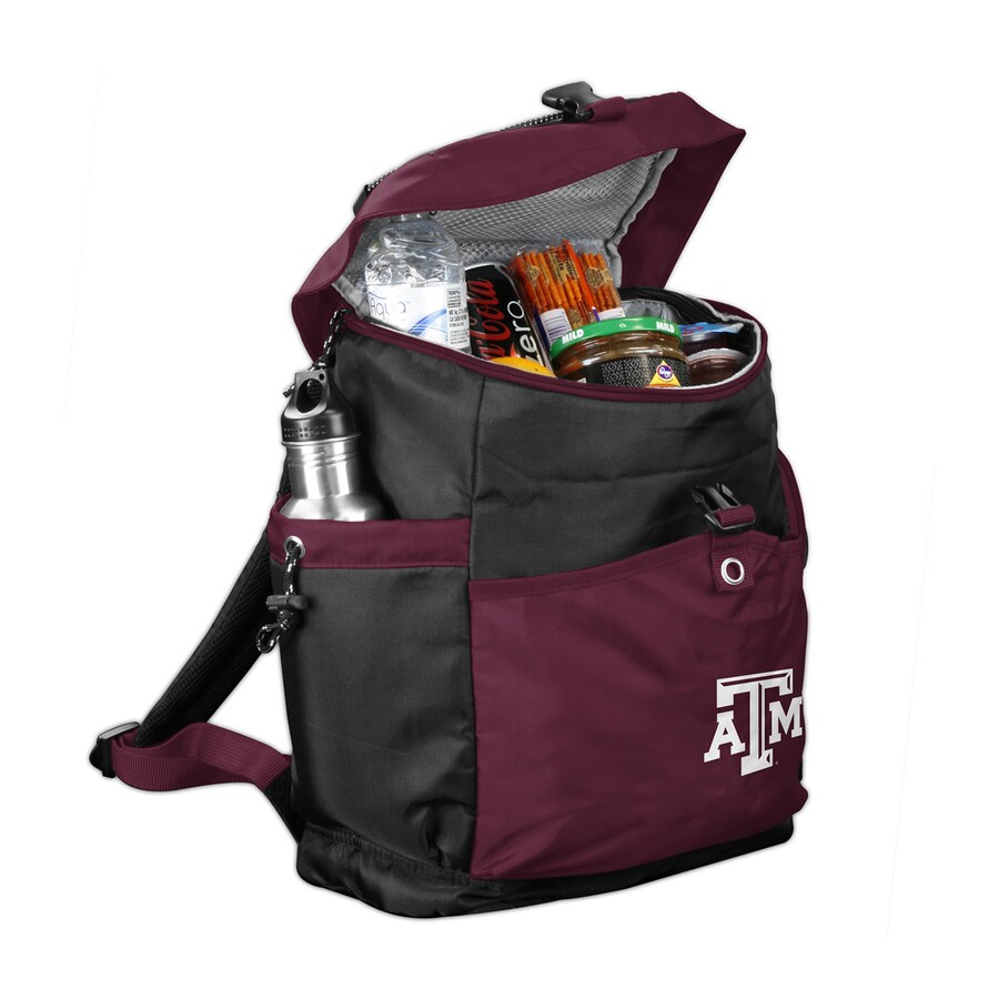 Backpack cooler chair - Logo Chairs Texas A M Aggies 288 Fl Oz Polyester Backpack Cooler