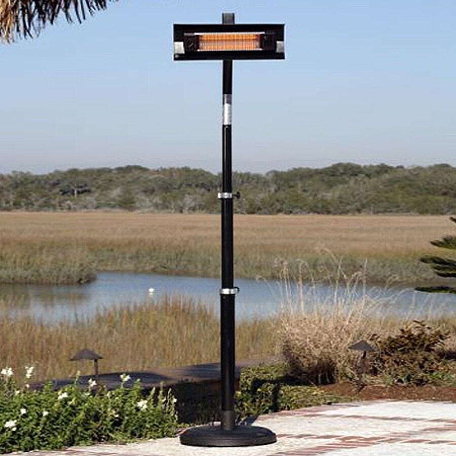 Fire Sense Black Steel Electric Patio Heater