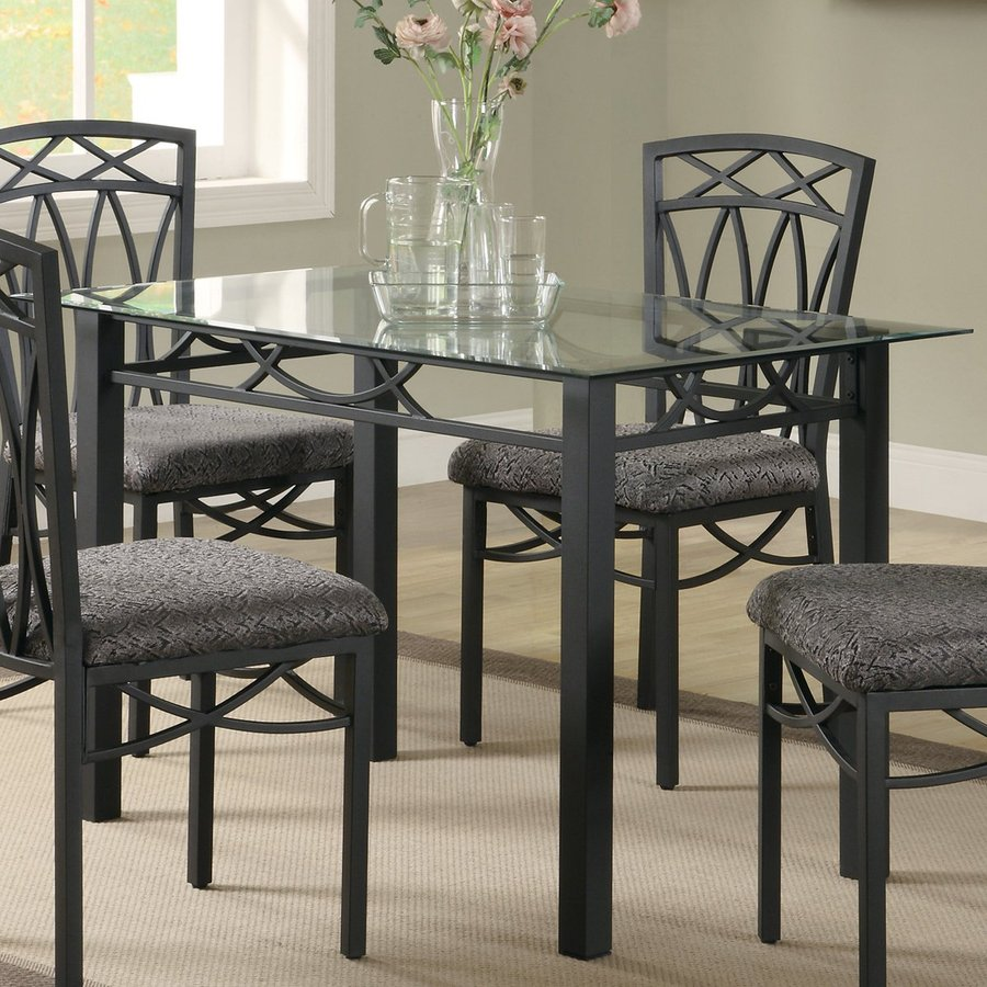 Fine Dining Table: Shop Coaster Fine Furniture Black Rectangular Dining Table