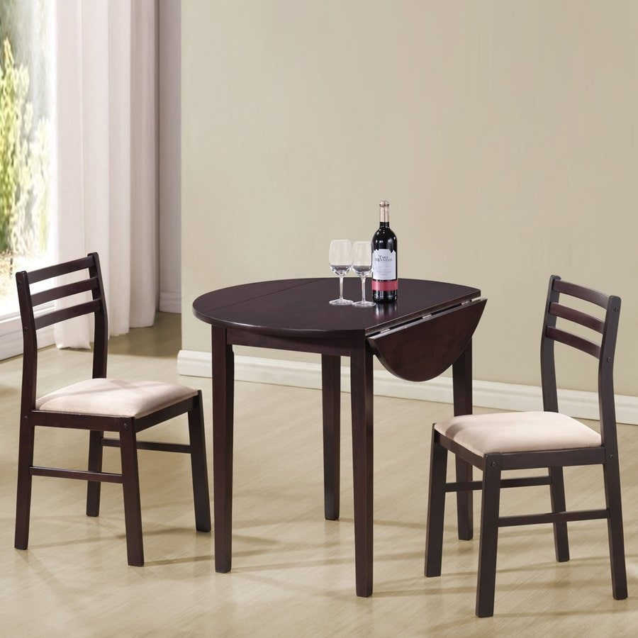 Shop coaster fine furniture cappuccino white dining set for White dinette sets