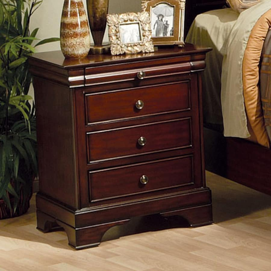 Fine Furniture Companies: Coaster Fine Furniture Versailles Mahogany Nightstand At