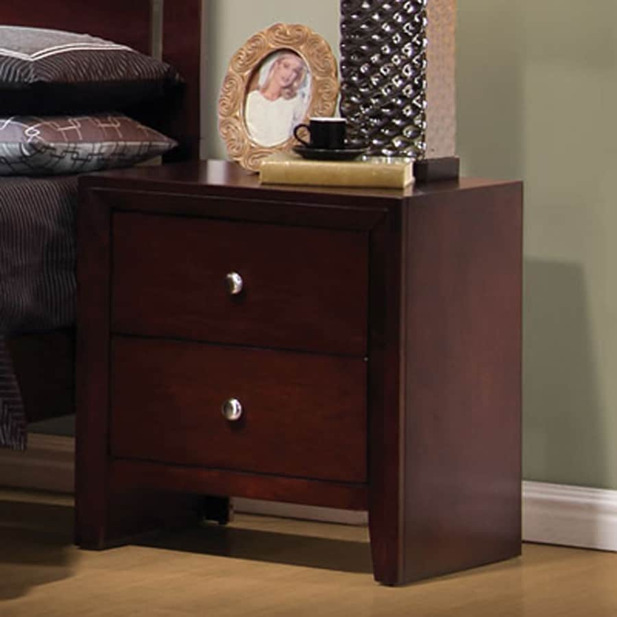 Coaster Fine Furniture Serenity Merlot Nightstand