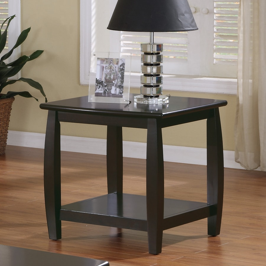 Coaster Fine Furniture Cappuccino Square End Table