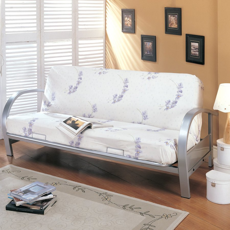 Coaster Fine Furniture Silver Futon
