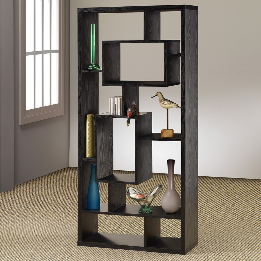 Coaster Fine Furniture Black 10-Shelf Bookcase