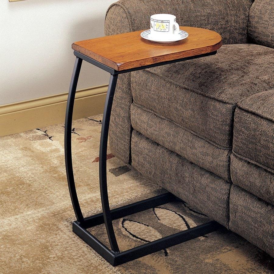 Coaster Fine Furniture Oak Rectangular End Table