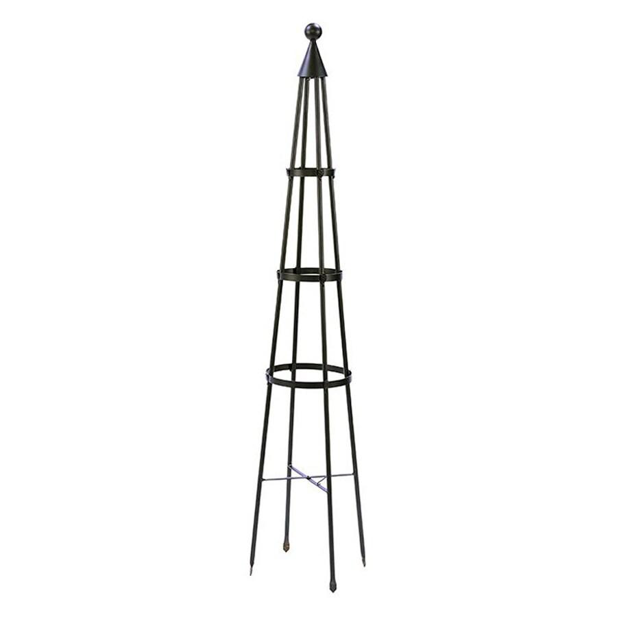 ACHLA Designs Obelisk 13-in W x 60-in H Graphite Garden Trellis
