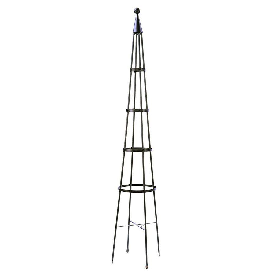 ACHLA Designs Obelisk 13-in W x 84-in H Graphite Garden Trellis
