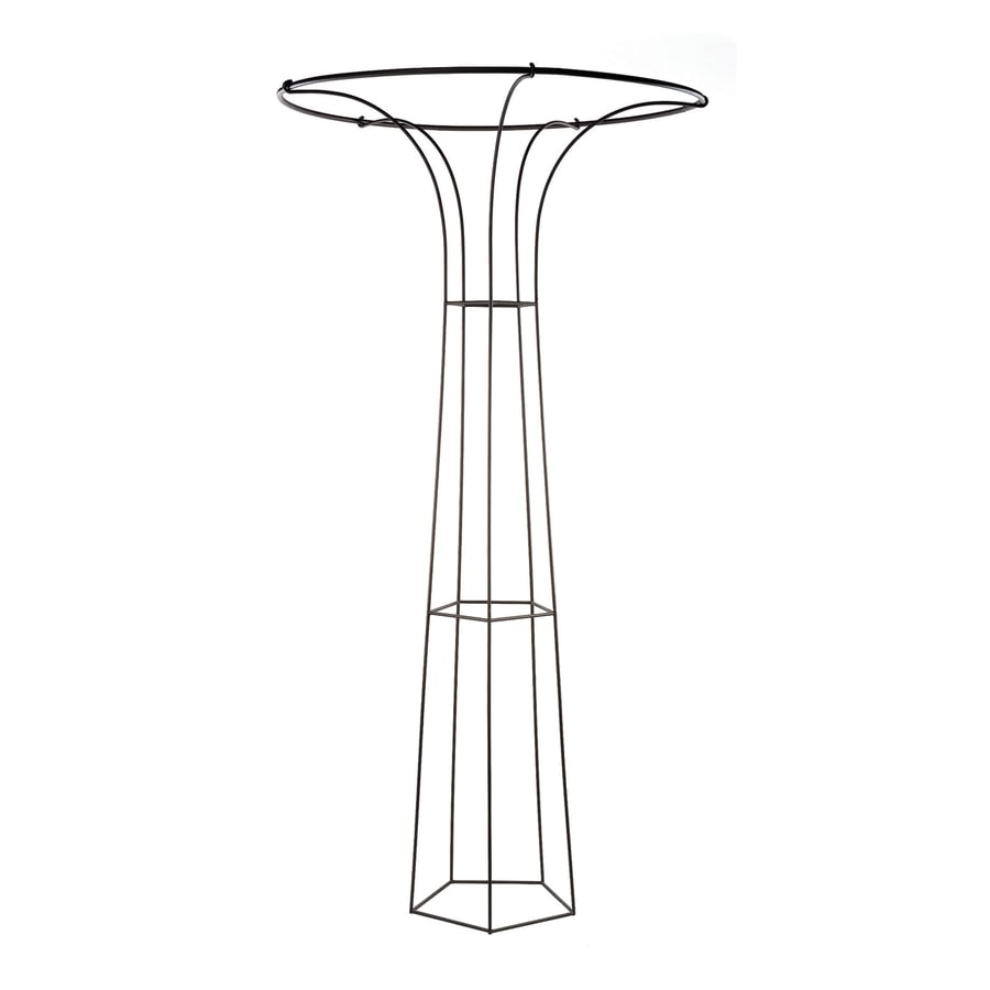 ACHLA Designs Mushroom 48-in W x 93.5-in H Roman Bronze Garden Trellis