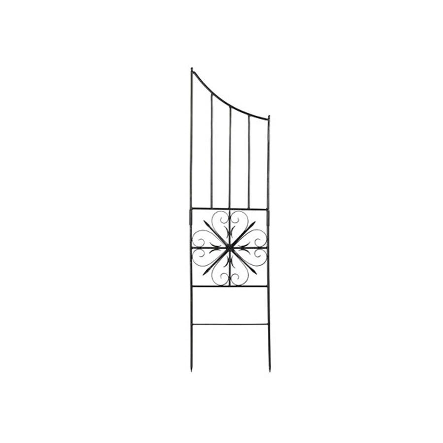 ACHLA Designs Aldrich 16.5-in W x 63-in H Graphite Garden Trellis