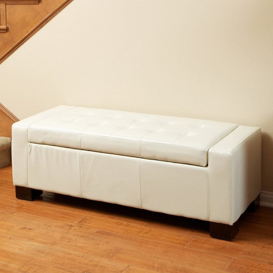 Shop best selling home decor guernsey white faux leather for Best selling home decor products