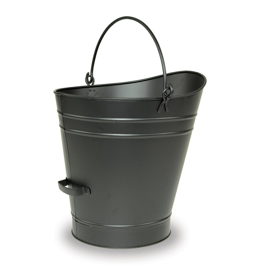 ACHLA Designs Black Pellet Bucket