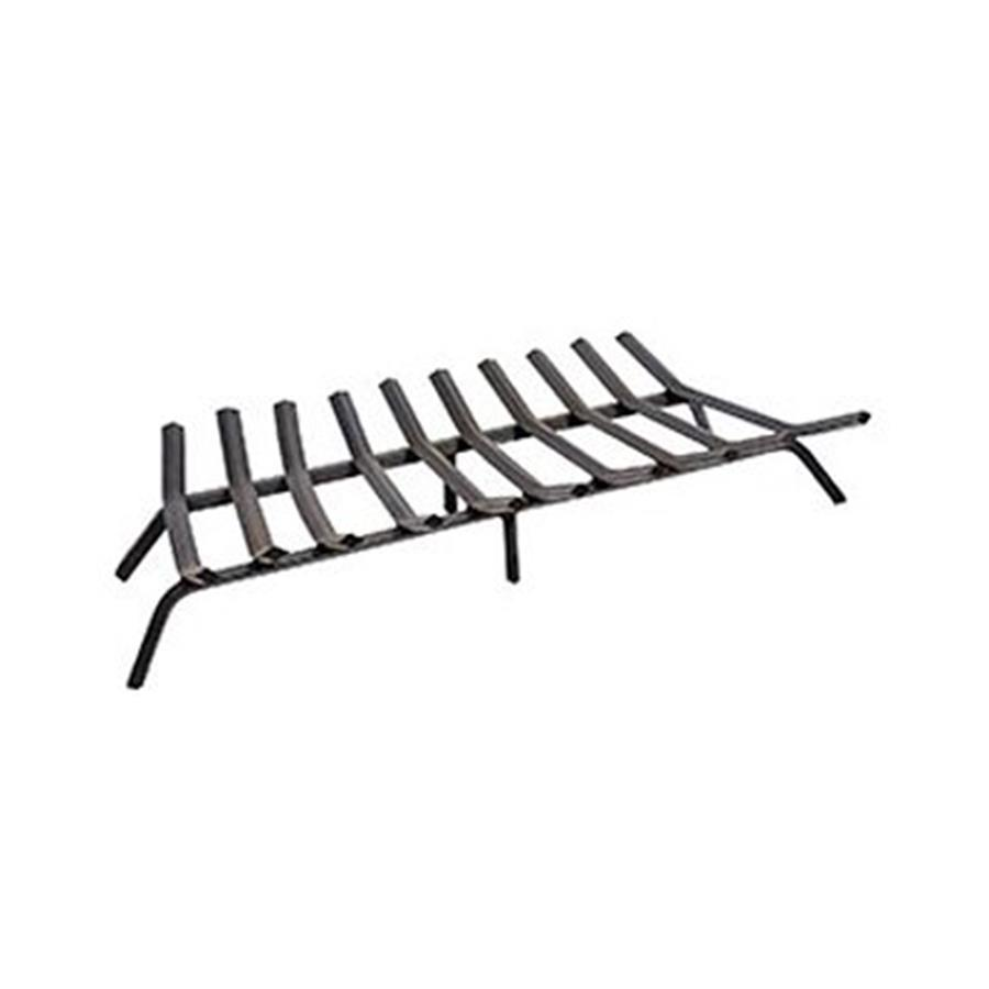 ACHLA Designs 3/4-in Steel 36-in 10-Bar Fireplace Grate