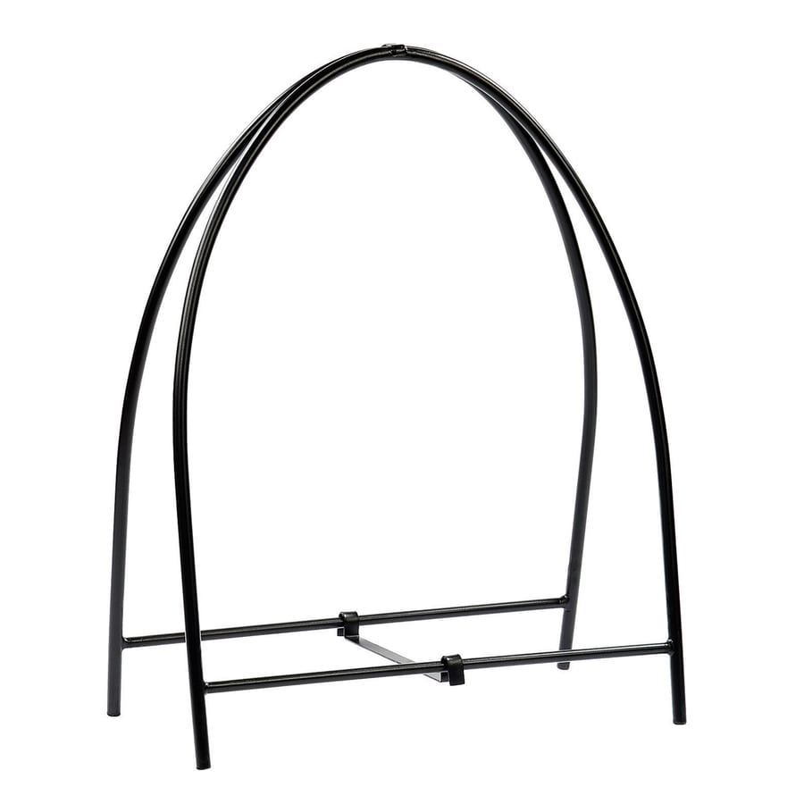 ACHLA Designs 37-in x 28.5-in x Wrought Iron Wood Holder