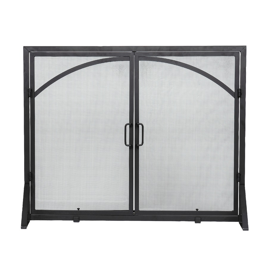 Shop Achla Designs 39 In Black Iron 1 Panel Flat Twin