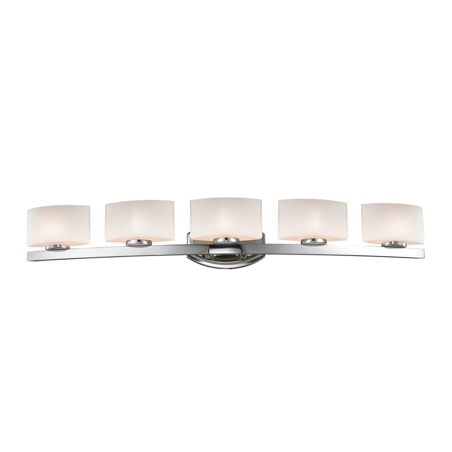 Z-Lite Galati 5-Light Chrome Rectangle Vanity Light