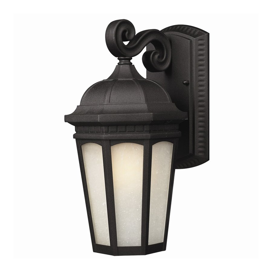 Z-Lite Holbrook 22.25-in H Black Outdoor Wall Light