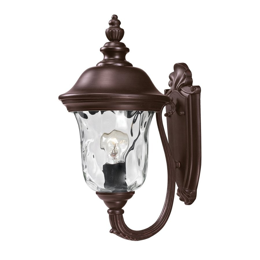 Z-Lite Armstrong 15.75-in H Bronze Outdoor Wall Light