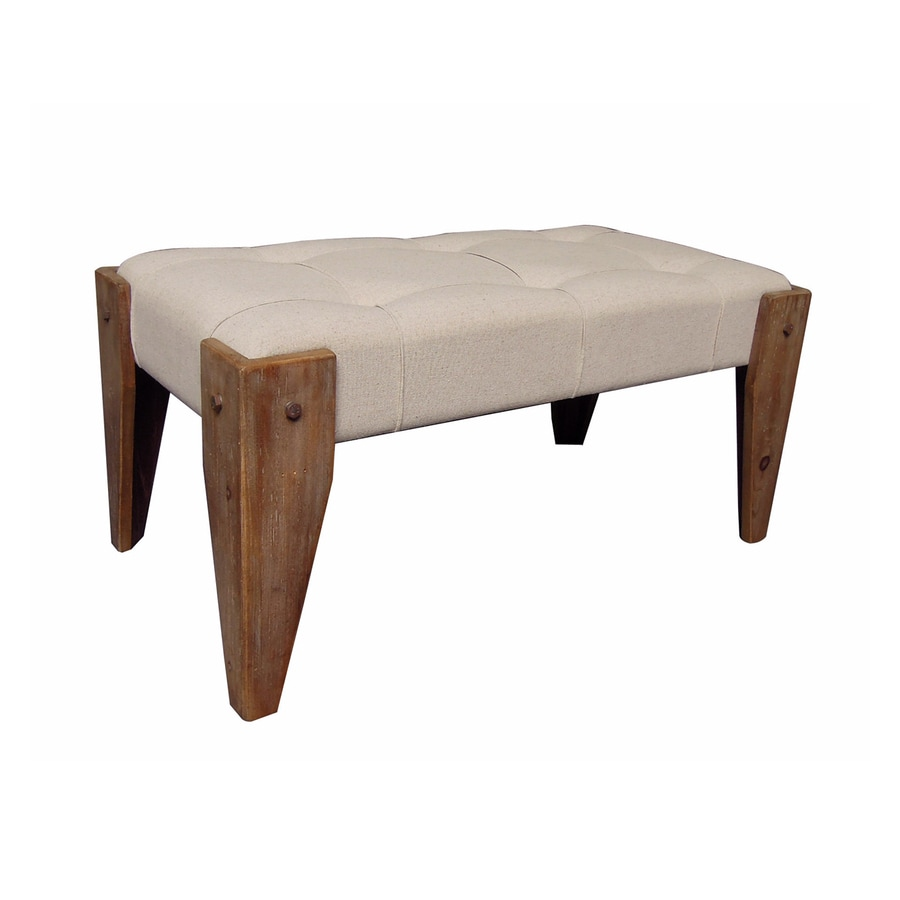 Shop International Caravan Rustic Elegance Rustic Antique Accent Bench At