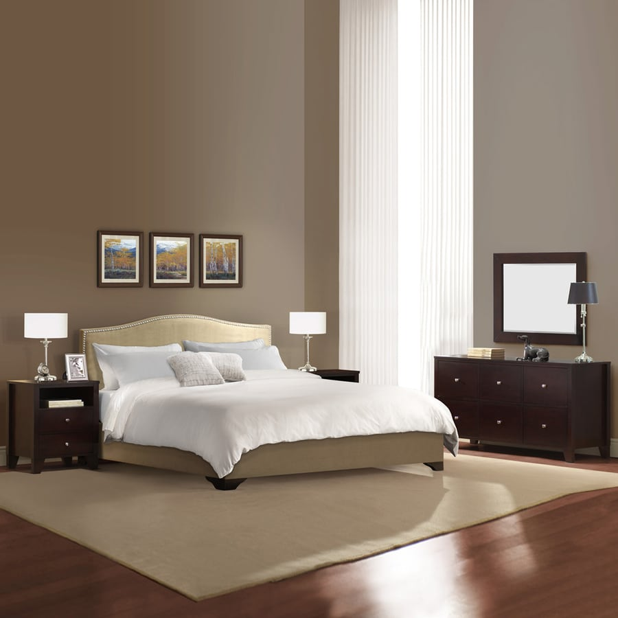 Lifestyle Solutions Magnolia Cappuccino King Bedroom Set. Shop Lifestyle Solutions Magnolia Cappuccino King Bedroom Set at