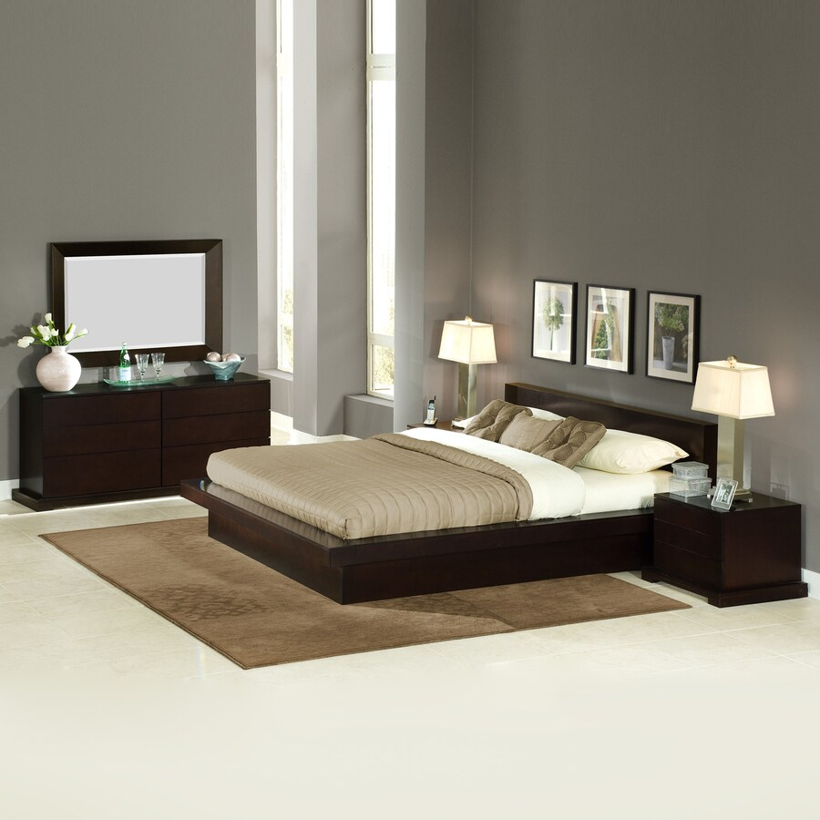 Delicieux Lifestyle Solutions Zurich Cappuccino King Bedroom Set
