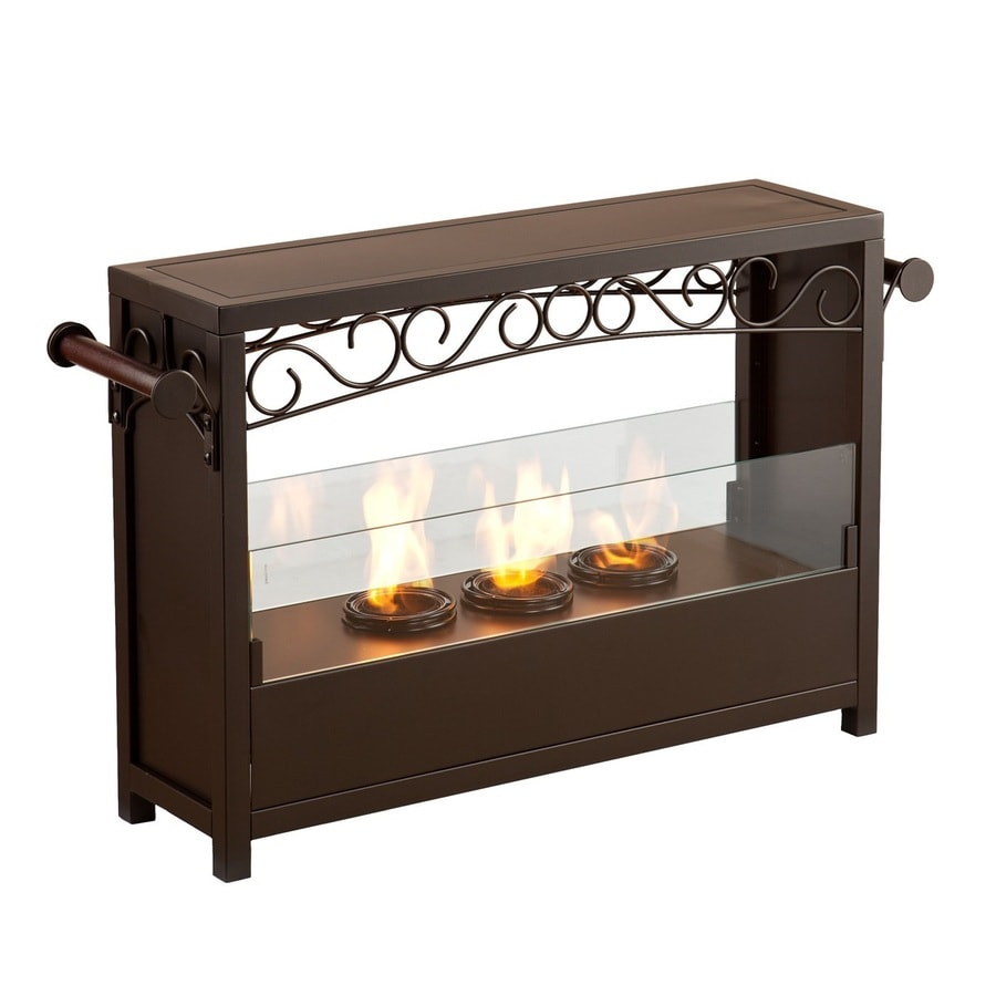 Boston Loft Furnishings 33.25-in Gel Fuel Fireplace