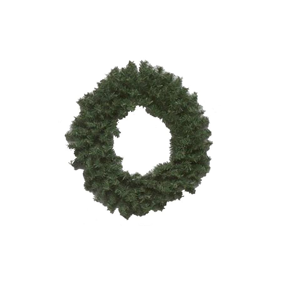 Vickerman 10-in Un-Lit Green Pine Artificial Christmas Wreath
