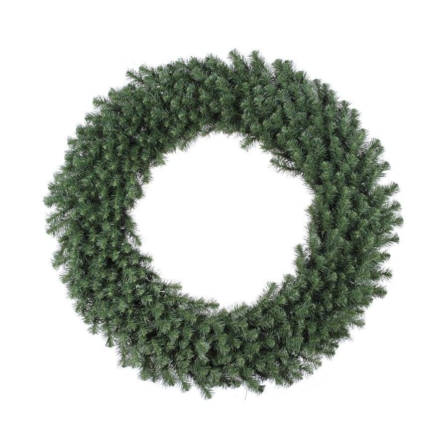 Vickerman 48-in Un-Lit Green Douglas Fir Artificial Christmas Wreath