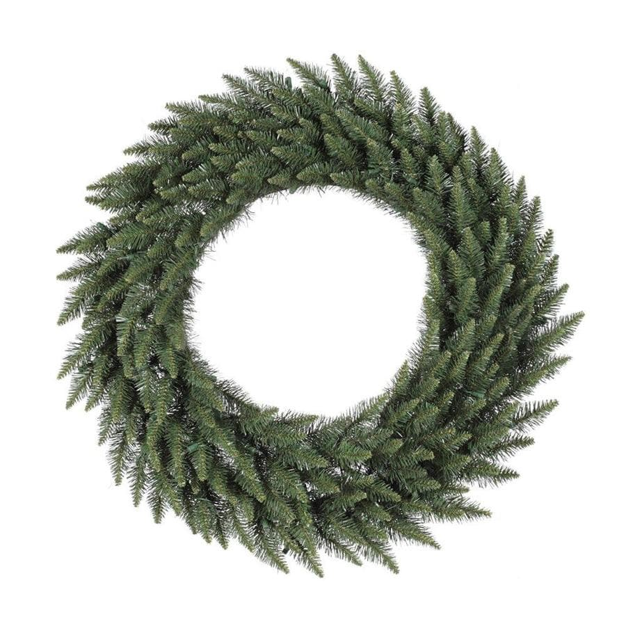 Vickerman 96-in Camdon Fir Unlit Artificial Christmas Wreath