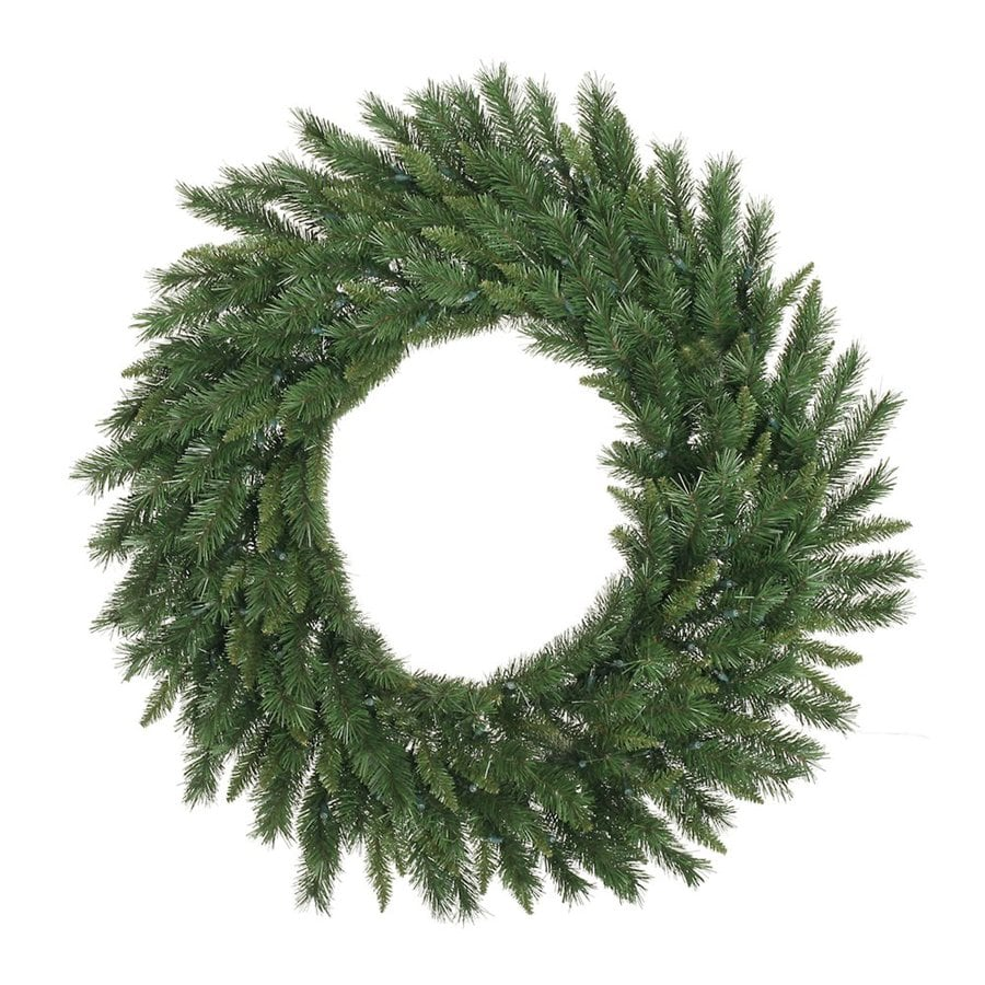 Vickerman 42-in Indoor/Outdoor Green Imperial Pine Artificial Christmas Wreath