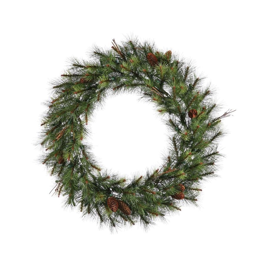 Vickerman 30-in Pine Artificial Christmas Wreath