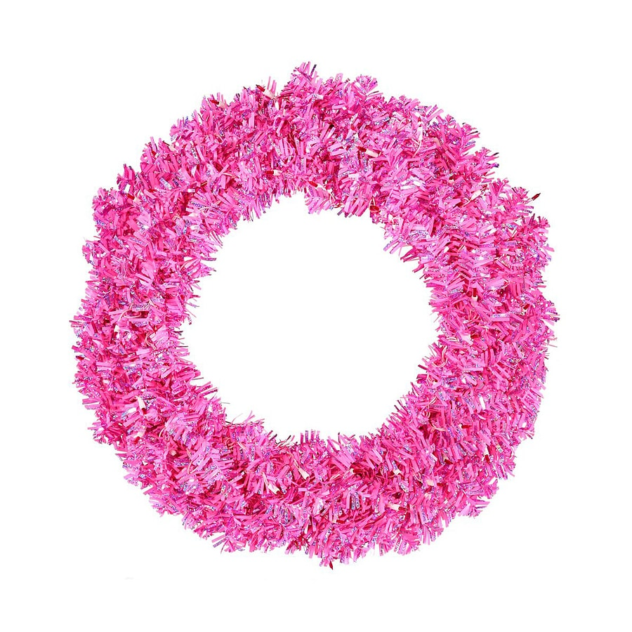 Vickerman 60-in Tinsel Artificial Christmas Wreath
