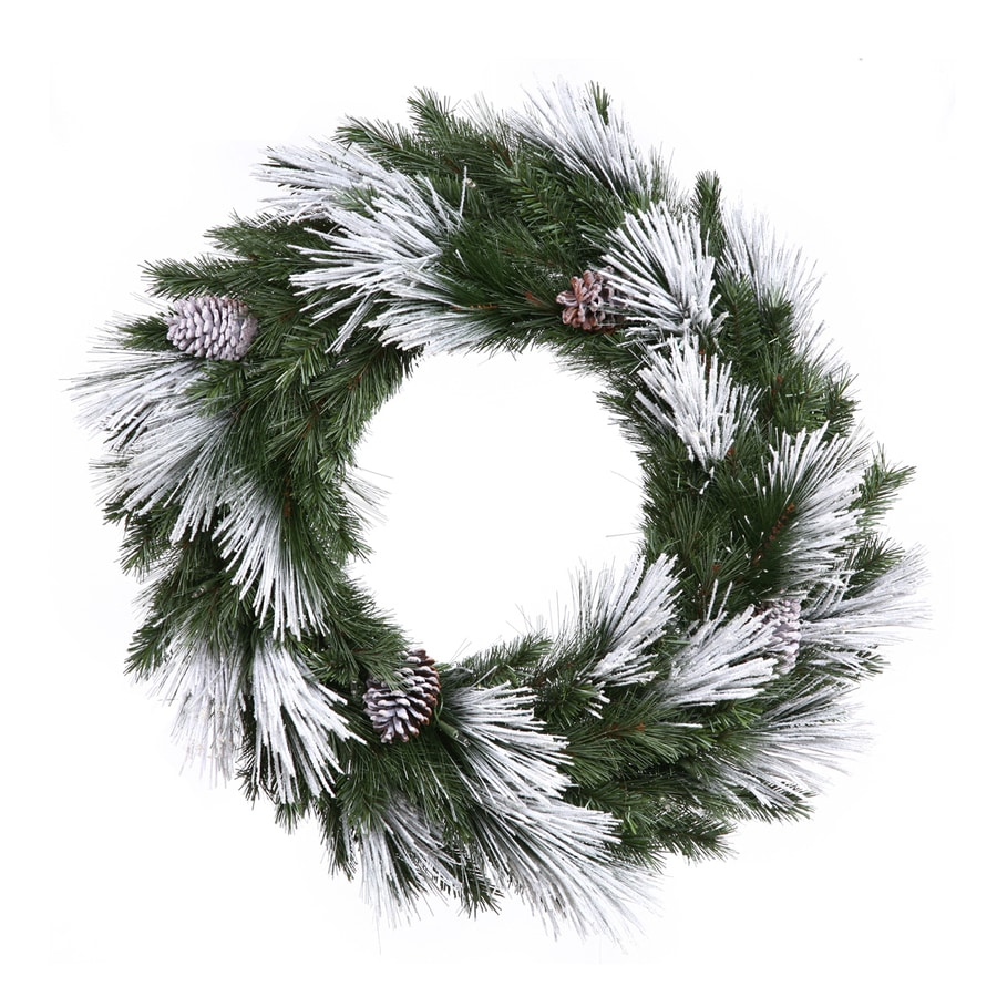 Vickerman 36-in Pine Artificial Christmas Wreath