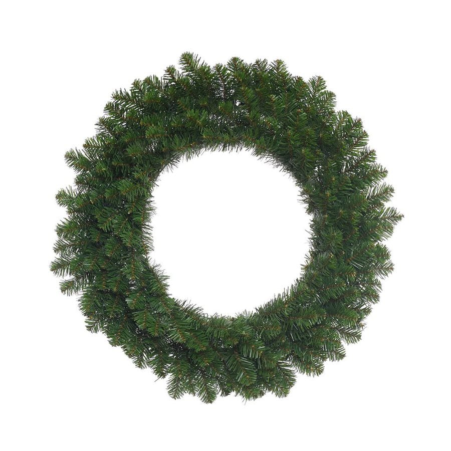 Vickerman 30-in Un-Lit Grand Teton Artificial Christmas Wreath
