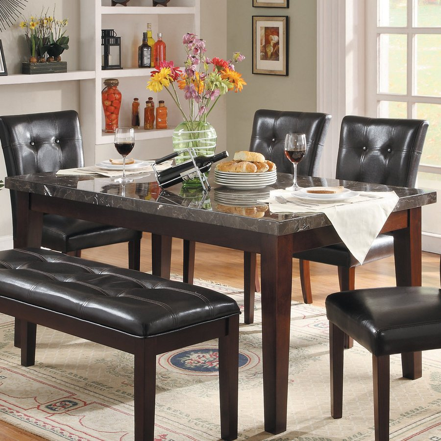 Homelegance Decatur Cherry Rectangular Dining Table
