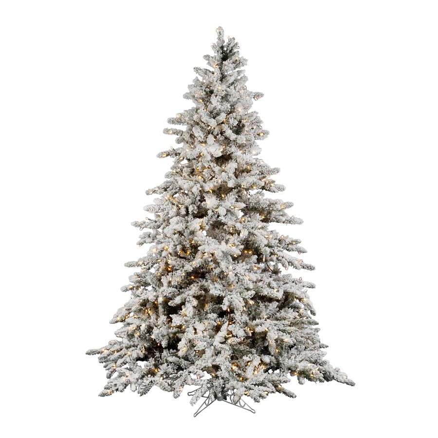 Artificial Silver Tip Christmas Tree
