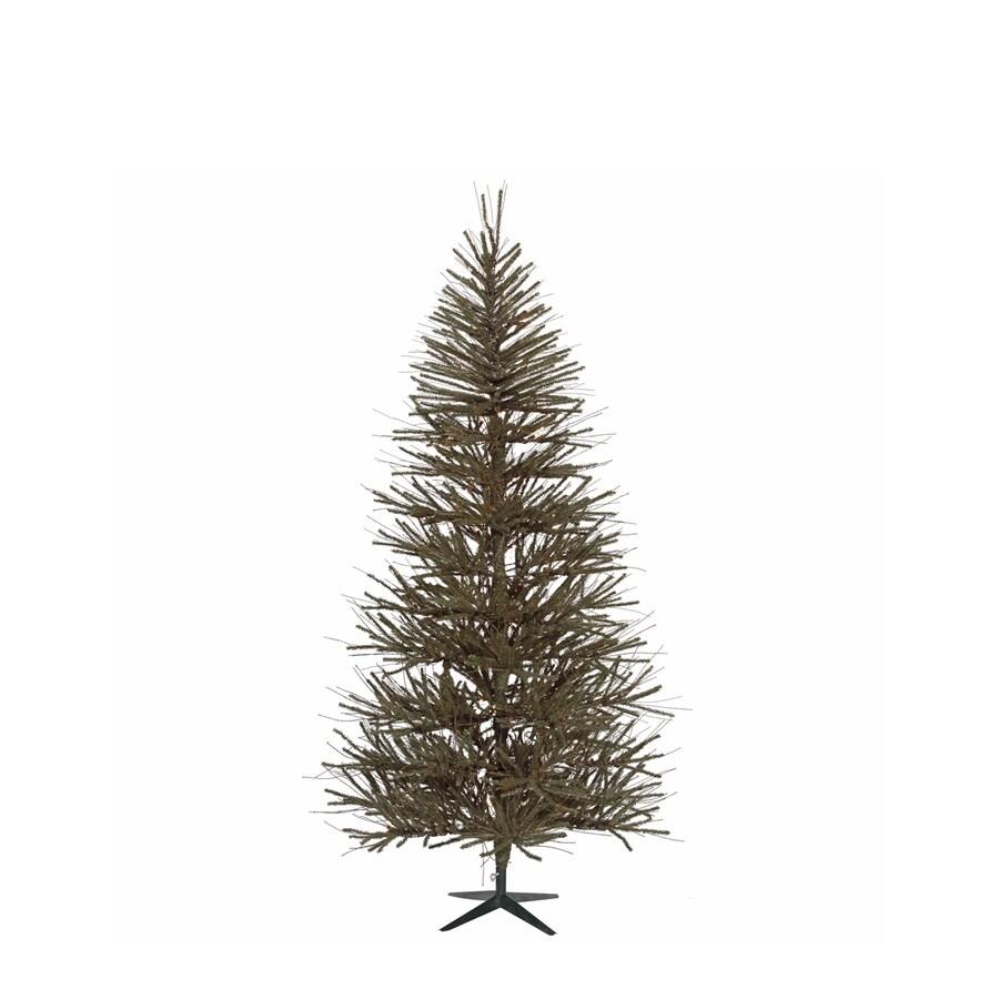 Vickerman 5-ft Unlit Vienna Twig Slim Artificial Christmas Tree