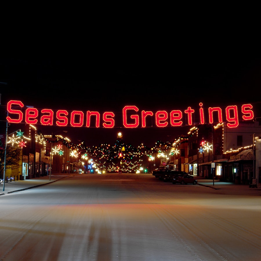 shop holiday lighting specialists 3 9 ft seasons greetings outdoor