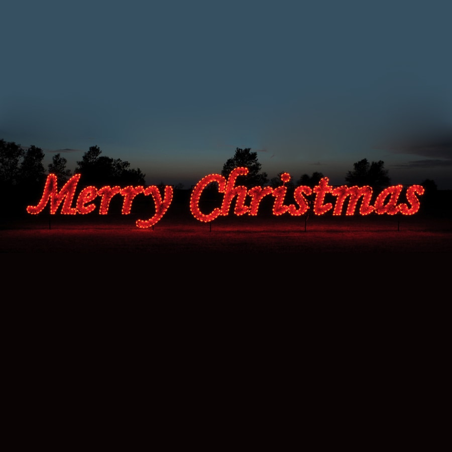 Shop holiday lighting specialists merry christmas for Large outdoor christmas signs