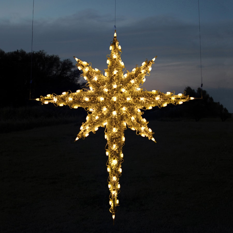 Shop Holiday Lighting Specialists 6.83-ft Moravian Star Outdoor ...