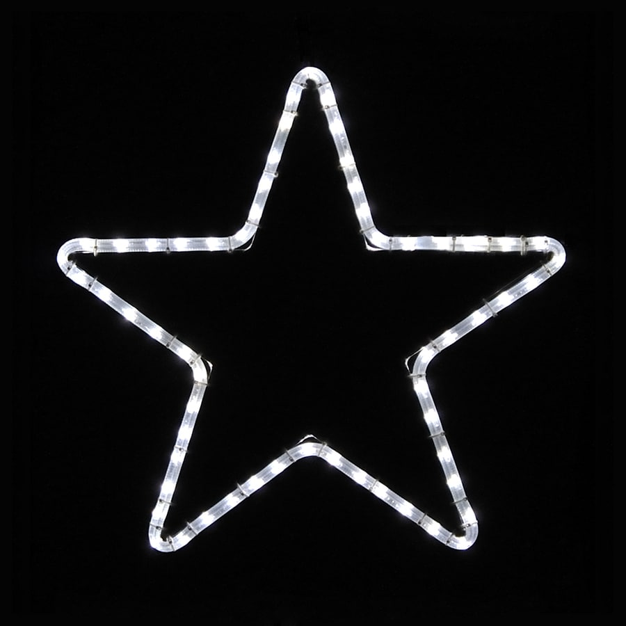 holiday lighting specialists 175 ft small large point star outdoor christmas decoration with led white - Star Lights Christmas