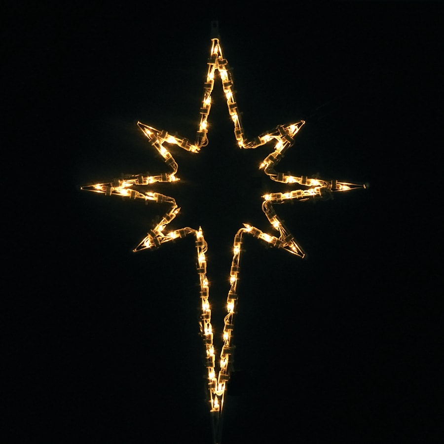 Shop holiday lighting specialists 2 5 ft small star of for Christmas lights and decorations