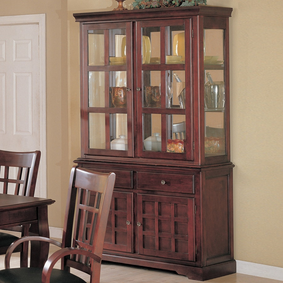 Coaster Fine Furniture Newhouse Cherry Rectangular China Cabinet