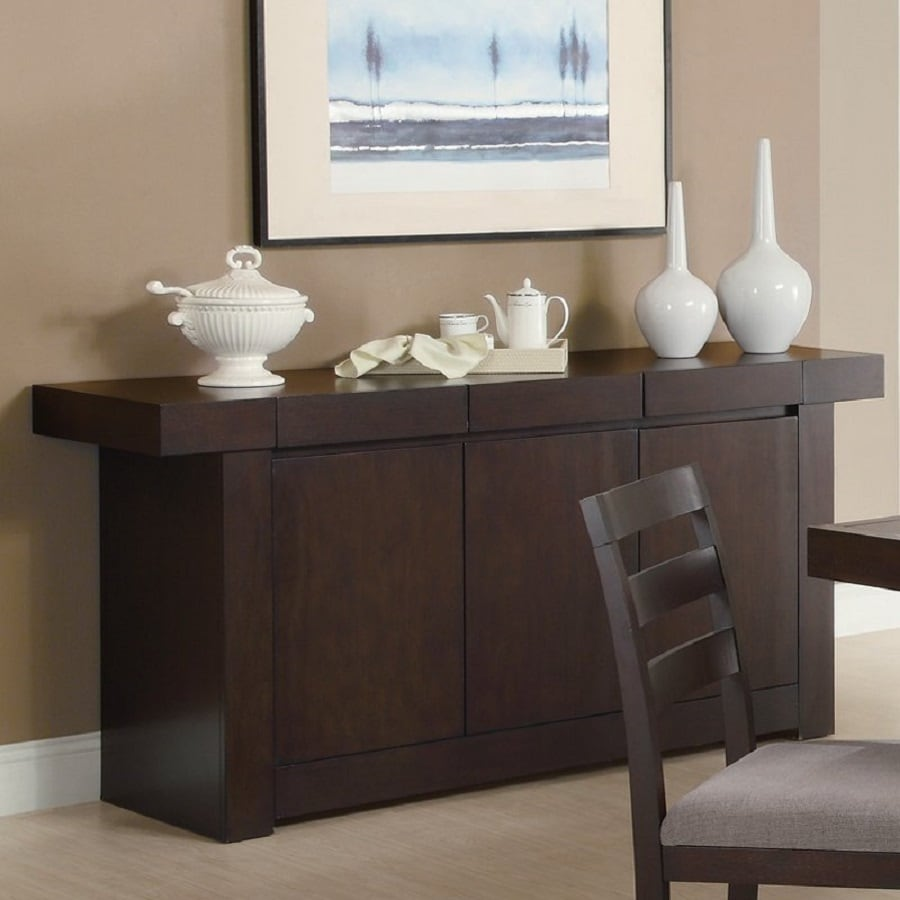 Coaster Fine Furniture Dabny Cappuccino Serving Table