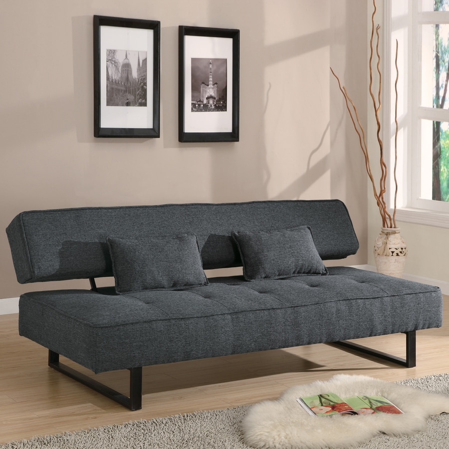 Coaster Fine Furniture Dark Grey Futon