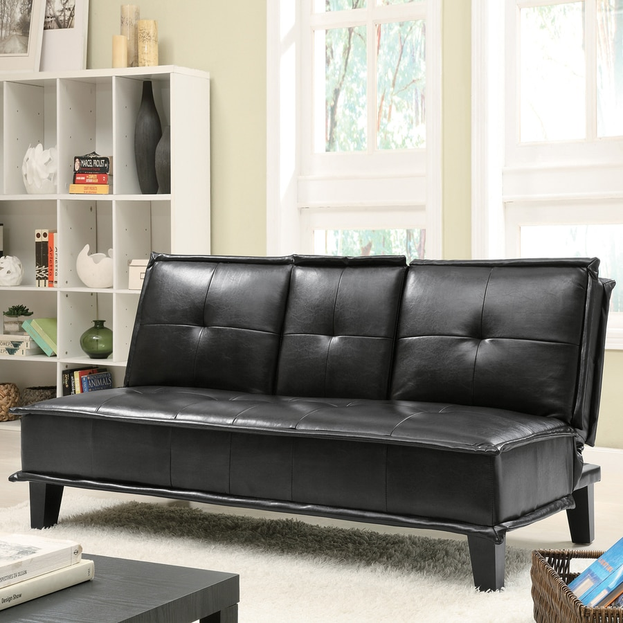 Coaster Fine Furniture Black Futon